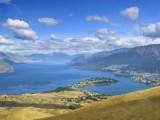 View north up Lake Wakitipu