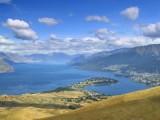 View north up Lake Wakitipu