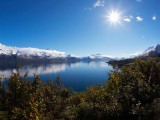 Spectacular views from the Glenorchy road